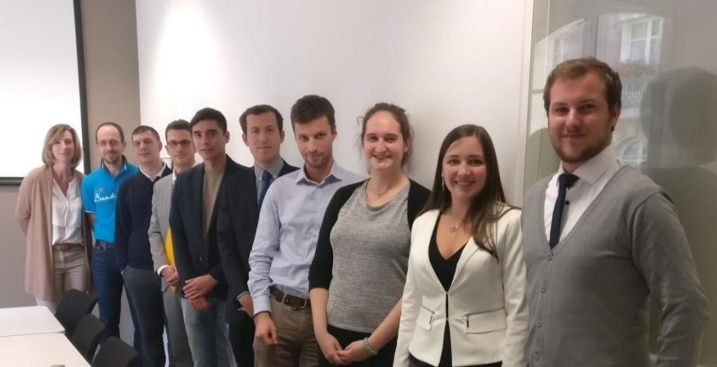 First career meeting with Adecco, world leader in human ressources services – Sep.17