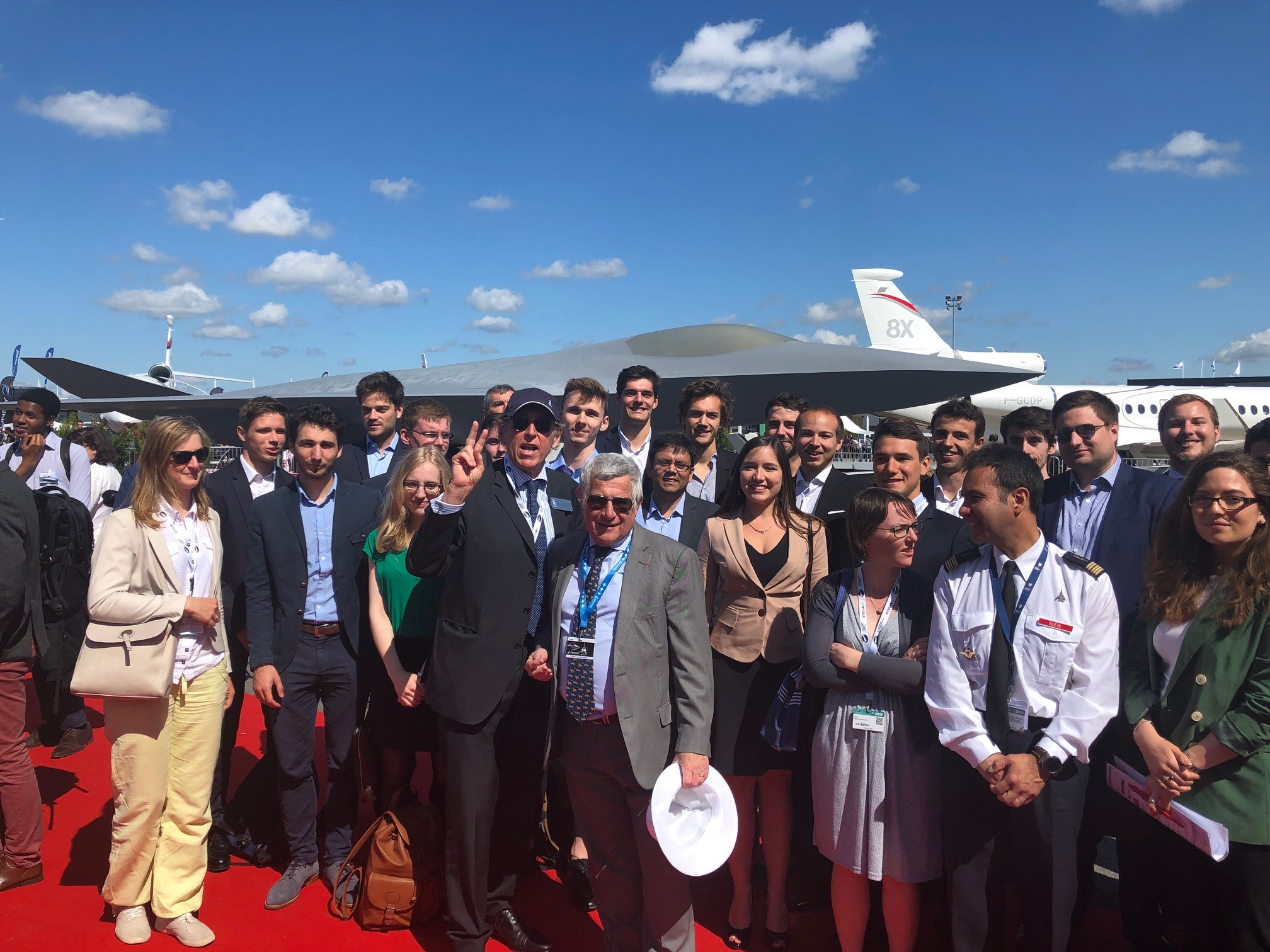 Pre-Student Awards Seminar at Le Bourget Paris Air Show – Jun.19