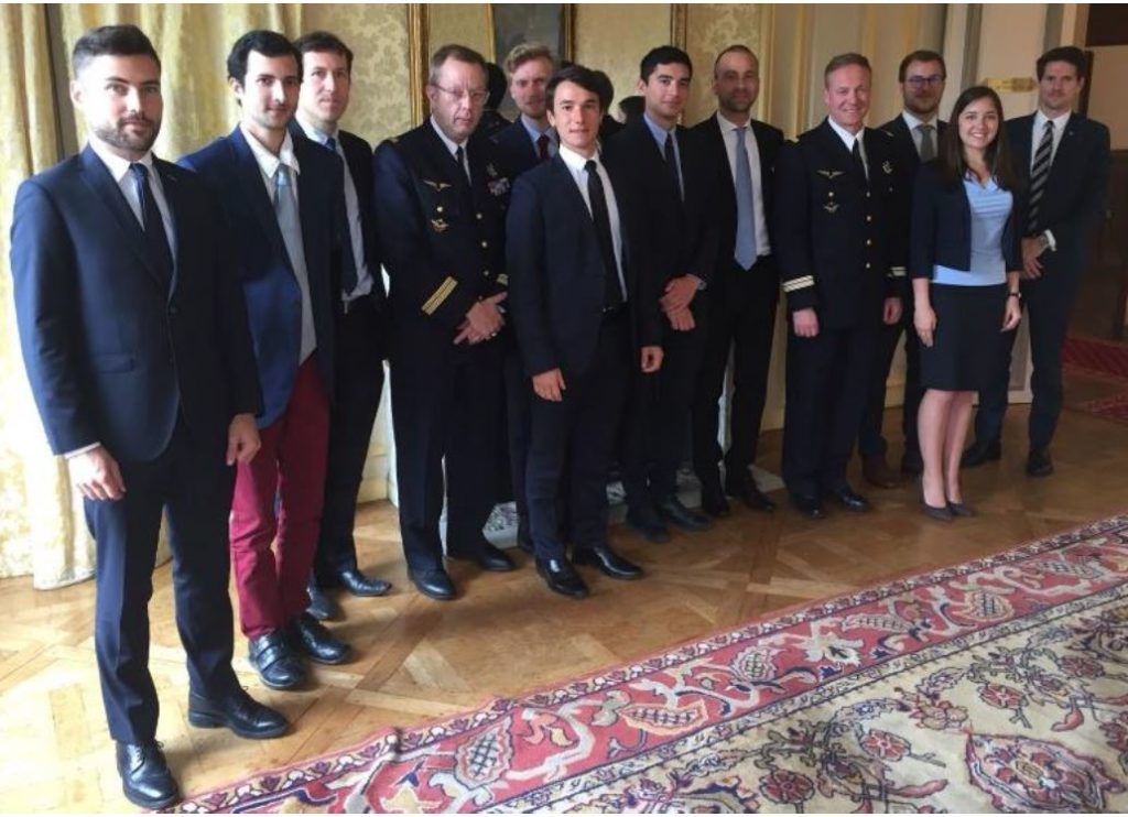 """Conference """"Leadership & Commitment"""" with Lieutnant Colonel Hervé de Saint Exupery, CERPA – May.18"""