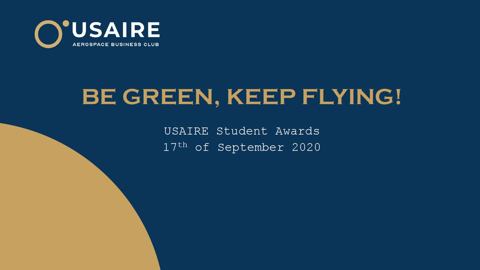 Usaire Student Awards 2020 Jury Deliberation – Sep.20