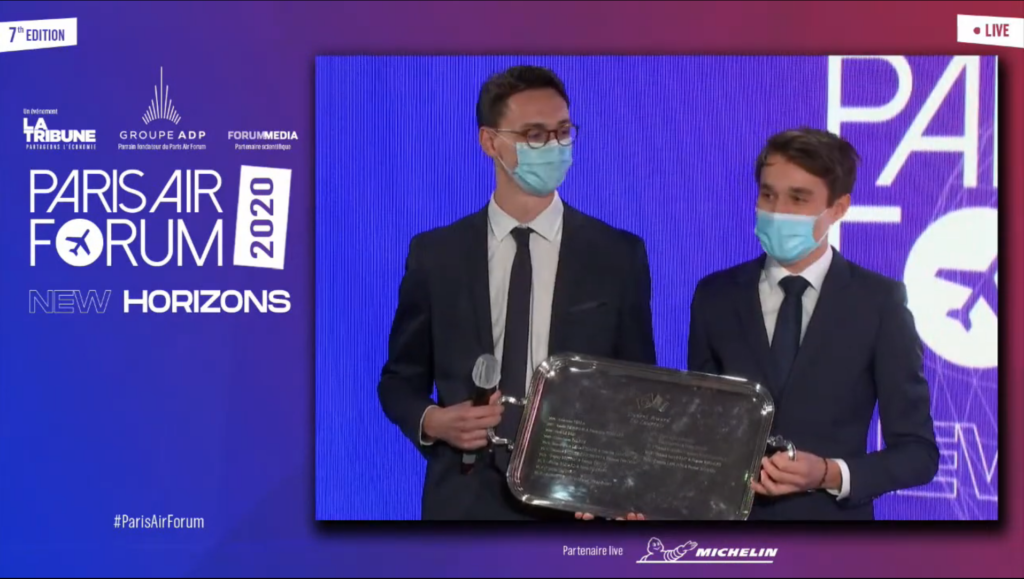USAIRE Student Awards 2020 ceremony at the Paris Air Forum