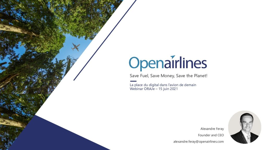 Webinar with Alexandre Feray, CEO of OpenAirlines